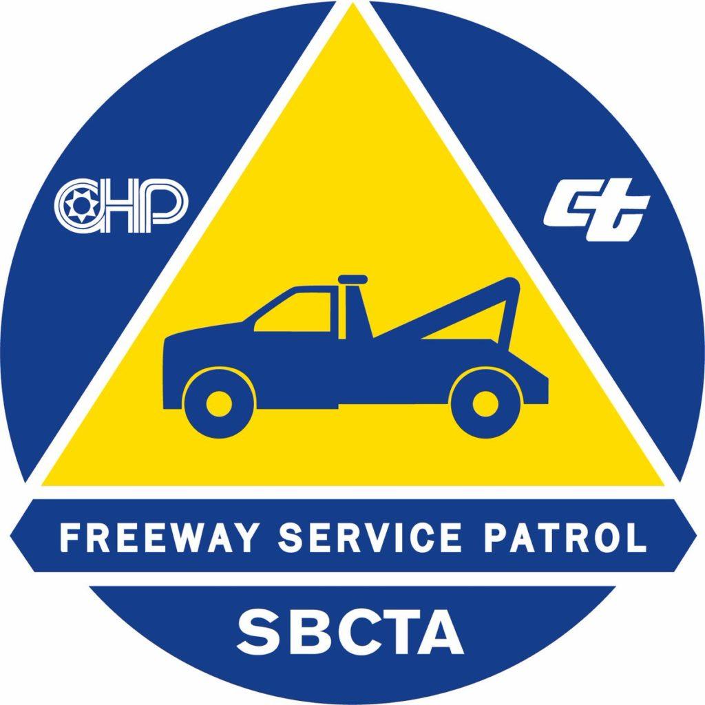 Freeway Service Patrol SBCTA logo