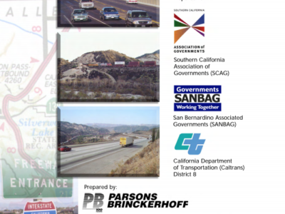 I-15 Comprehensive Corridor Stufy (2005)