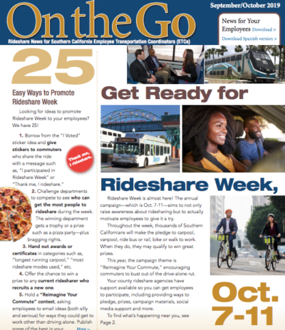 On the go ETC September October 2019