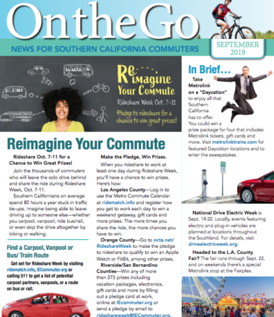 On the go commuters September 2019