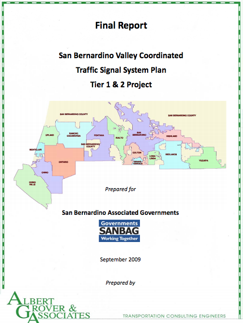 SB Valley CTS Plan Cover page