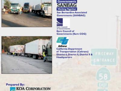 SR-58 Origin and Destination Truck Study (2009)