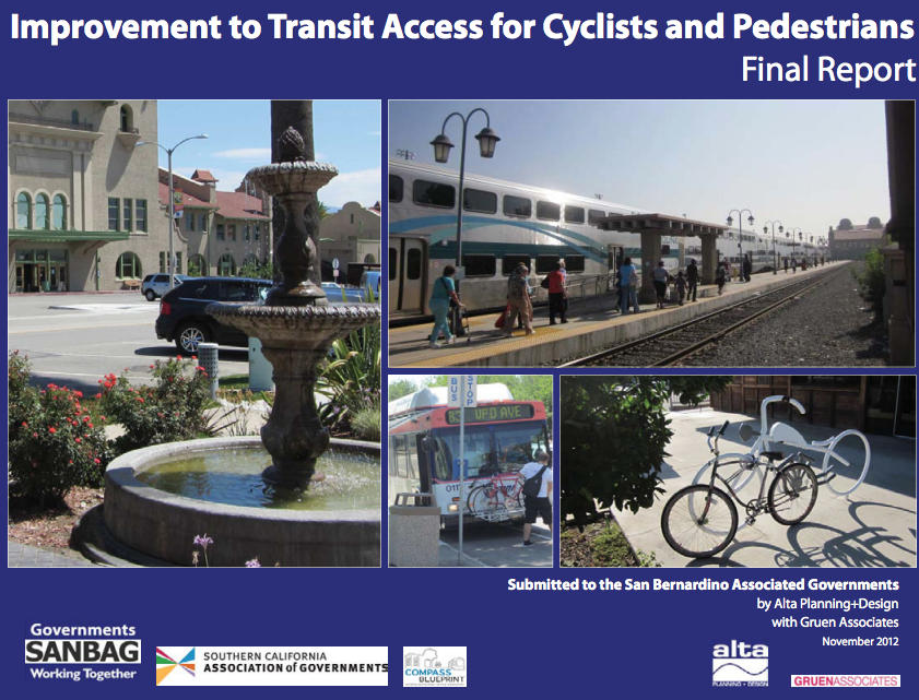 Transit Access Improvement for Cyclist & Pedestrians (2012)