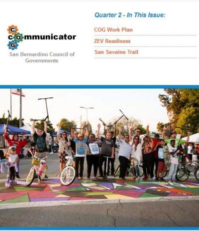 Cover of COG Communicator: Quarter 2 2017