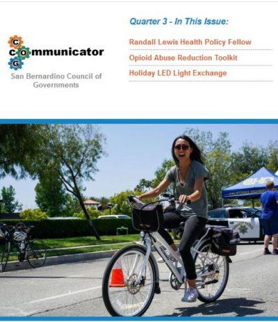 Cover of COG Communicator: Quarter 3