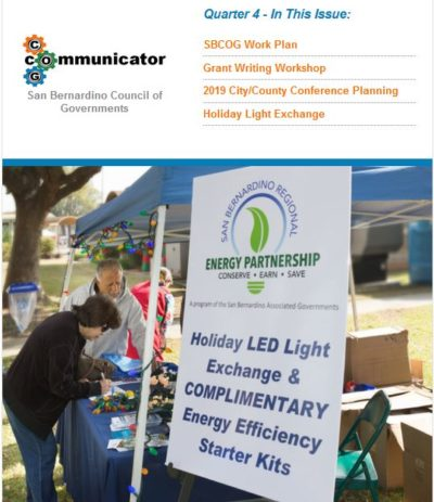 Cover of COG Communicator: Quarter 4