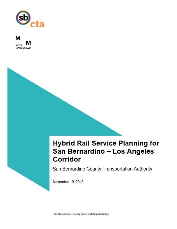 hybrid rail report cover