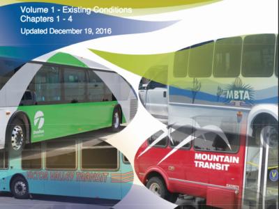SBCTA Short Range Transit Plan Cover Page